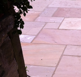 Lovely Stone Colours on Indian Stone Paving