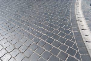 New driveway Leeds cobbled