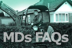 Mick's FAQ's on new driveway planning permission