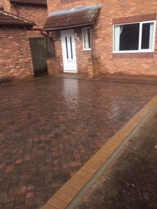 Polished block paving Leeds