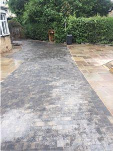 Driveway Leeds Case Study laying granite setts