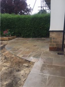 Driveway Leeds Case Study Raj Indian Stone Finish