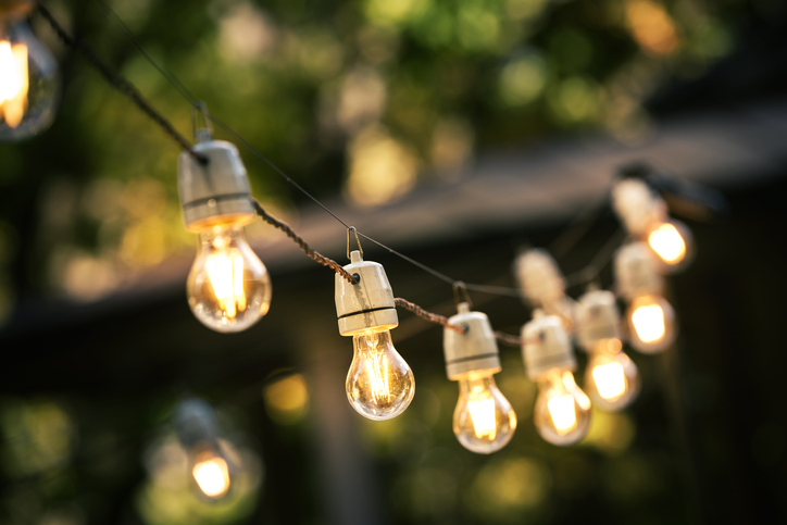 Mood Lighting for Patio Upgrade
