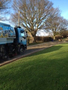 Pouring tarmac on Wetherby driveway