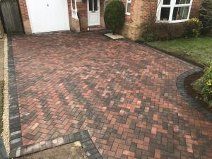 Brindle block paving driveways Collingham