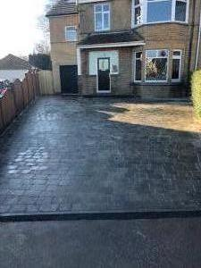 Sorrento granite driveways Leeds, Baronsmead Whitkirk