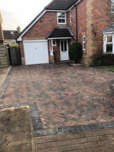 Brindle block paving Collingham