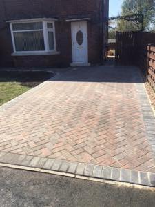Herringtone Block paving