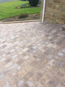 Beautiful brindle block paving