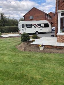 Elmcroft, Whinmoor Leeds Patio and pathway surround