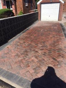 Brindle driveway Roundhay