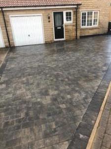 Granite stone driveway Barwick in Elmet