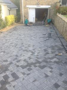 Finished driveway MD Paving