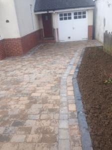 Garage driveways Harrogate