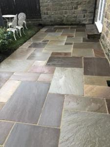 Peak stone patio, Spofforth