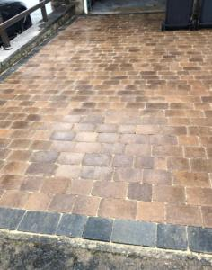 Sorrento stone driveway, Spofforth